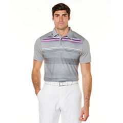 PGA TOUR Pro Series Short Sleeve Stripe Polo Shirt