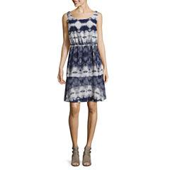 Libby Edelman Sleeveless Blouson Dress