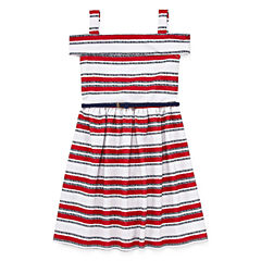 Knit Works Sleeveless Stripe A-Line Dress - Big Kid Girls
