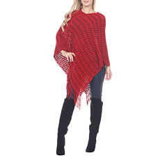 White Mark Nixie Poncho