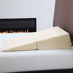 Cambridge Home Folding Wedge Memory Foam Pillow Wedge Pillow