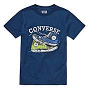 Converse Short-Sleeve Chuck Taylor Graphic Cotton Tee - Boys 8-20