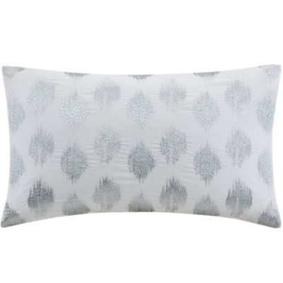 INK+IVY Nadia Dot Oblong Embroidered Decorative Pillow