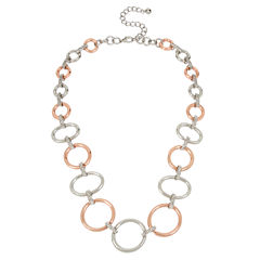 Worthington Womens 20 Inch Link Necklace