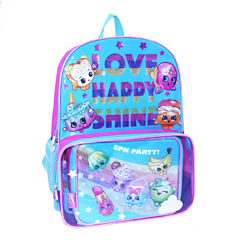 Shopkins Rainbow Party Backpack with Lunch Tote