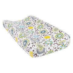 Trend Lab Pom Pom Spa Plush Changing Pad Cover