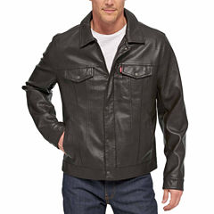 Levi's® Faux Leather Trucker Jacket