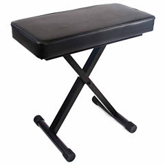 Reprize Accessories DKB-1 Keyboard Bench with 2-inch Pad