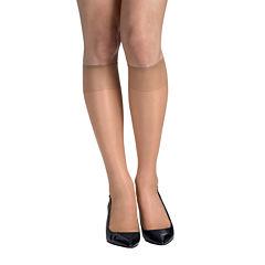 Hanes® Silk Reflections® 2-pk. Knee-High Sandalfoot Hosiery