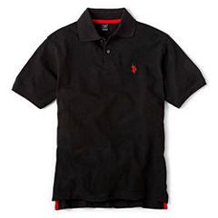 U.S. Polo Assn.® Short-Sleeve Solid Polo - Boys 8-18