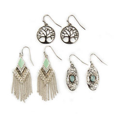 Arizona 3-pr. Cab Earrings