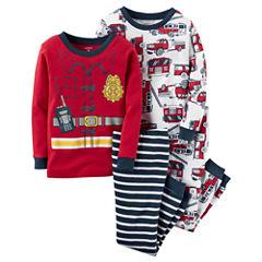 Carter's® 4-pc. Pajama Set - Baby Boys newborn-24m