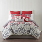 Home Expressions™ Julia 10-pc. Comforter Set and Accessories