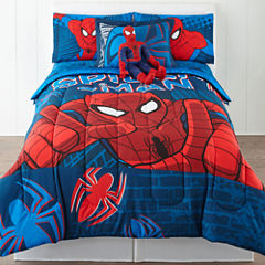 Marvel® Spider-Man® Twin/Full Reversible Comforter + BONUS Sham Collection