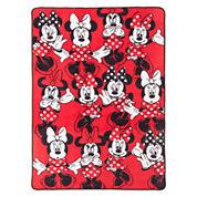 Disney® Minnie Mouse Who Am I Blanket