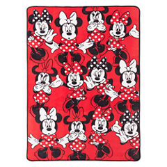 Disney® Minnie Mouse Who Am I Blanket