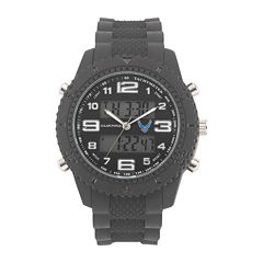 Wrist Armor® C27 Mens US Air Force Rubber Strap Chronograph Watch