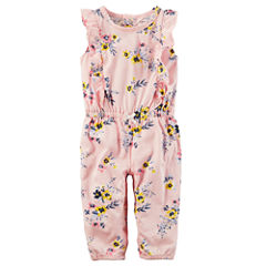 Carter's Short Sleeve Jumpsuit - Baby Girl