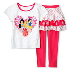 Disney Collection Princesses 2-pc. Dress Set - Girls 2-10