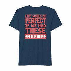 Novelty Promotional Short Sleeve Graphic T-Shirt