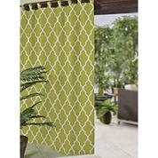 Corado Ogee Tab-Top Indoor/Outdoor Curtain Panel