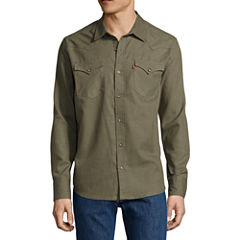 Levi's Long Sleeve Button-Front Shirt