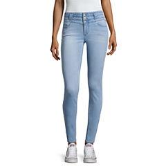 Blue Spice Skinny Jeans-Juniors