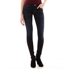 Arizona Super Skinny Jeans - Juniors
