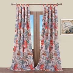 Barefoot Bungalow Atlantis Tab-Top Curtain Panel
