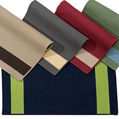 Colonial Mills Tanglewood Stripe Braided Rectangular Reversible Rugs