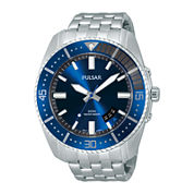 Pulsar® Mens Stainless Steel Watch PS9319