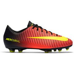 Nike® Jr. Mercurial Vapor XI FG Girls Soccer Cleats - Little Kids/Big Kids