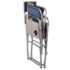 Kamp-Rite High Back Director's Chair with Side Table & Cooler