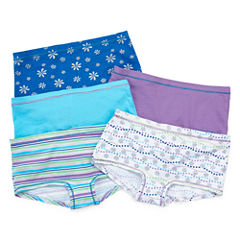 Hanes 5-pc. Boyshort Panty-Big Kid Girls