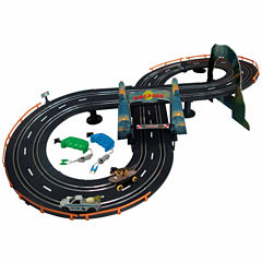 Battery Operated Dino Park Chase Road Racing Set