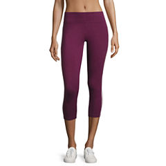 Flirtitude Yoga Crop Pant- Juniors