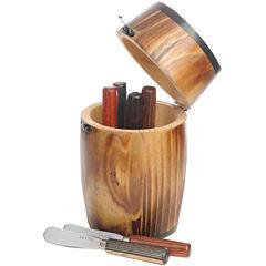 La Cote 6-pc. Spreader Set in Mini Barrel