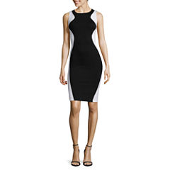 Bisou Bisou® Sleeveless Colorblock Bodycon Dress
