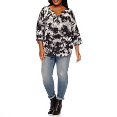 a.n.a® 3/4-Sleeve Lace-Up Tee or Jeggings