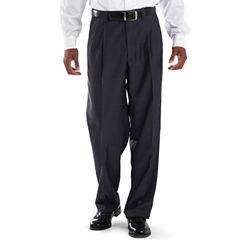 Steve Harvey® Pleated Sharkskin Dress Pants