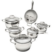 BergHOFF® 12-pc. Zeno Stainless Steel Cookware Set