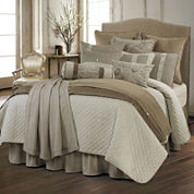 HiEnd Accents Fairfield Parisian 4-pc. Quilted Coverlet Set & Accessories