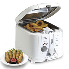 Elite Cuisine EDF-888XT 2-Quart Cool Touch Deep Fryer with Timer