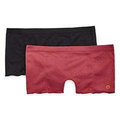 Danskin 2 Pair Knit Boyshort Panty