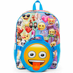 EMOJI BACKPACK AND LUNCH TOTE SET