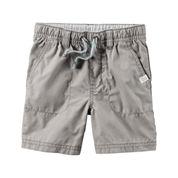Carter's® Gray Woven Shorts - Boys 4-8