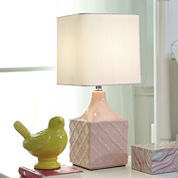 Signature Design by Ashley® Simmone Pink Table Lamp