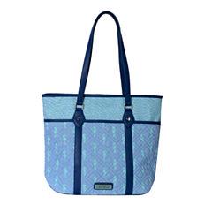 Waverly Seahorse Tote Bag