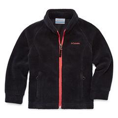 Columbia Girls Lightweight Fleece Jacket-Toddler