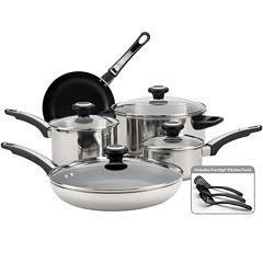 Farberware® 12-pc. High Performance Stainless Steel Cookware Set